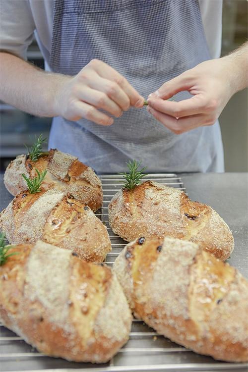 brood berijden vers eten oven proef food kruiden vers