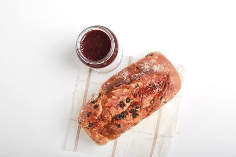 eten vers brood jam rood bruin vers bakker food eten krenten