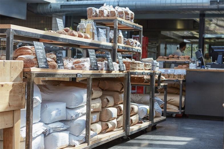 winkel store buffet brood licht zomer lente hout bar keuken