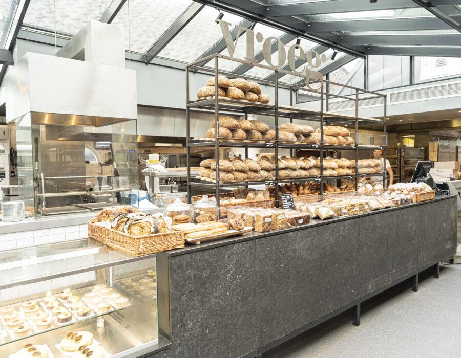 restaurant bakkerij vroeg - winkel