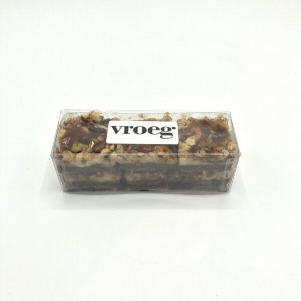 Notenkaramel brownie